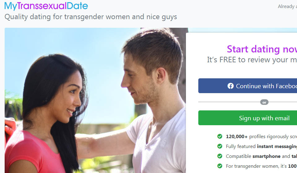 MyTranssexualDate Review: Land your transsexual date